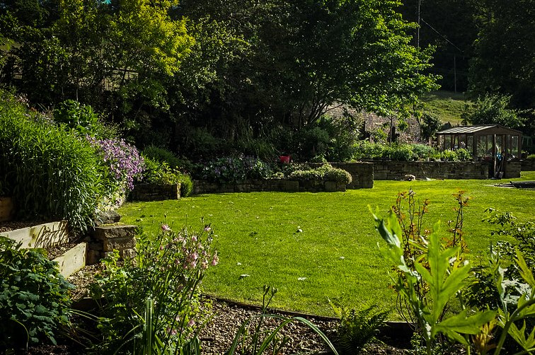 Professional lawn cutting services in the West Yorkshire Halifax area.