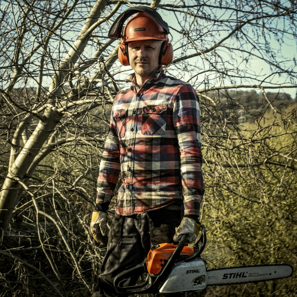 Andy, the garden and landscape professional at Quality Garden Works.